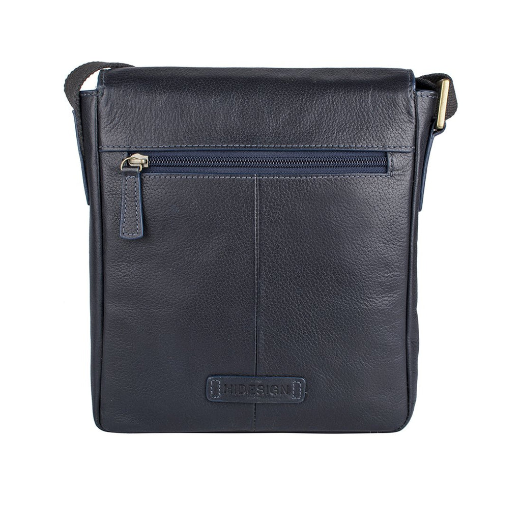 Bowfell 01 Leather Crossbody (Blue)