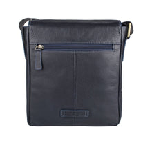 Load image into Gallery viewer, Bowfell 01 Leather Crossbody (Blue)