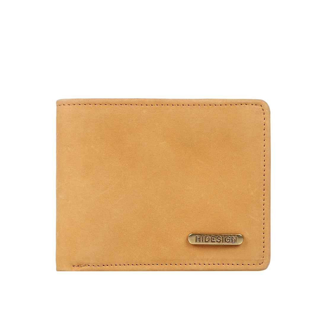 387-036 Bi-Fold Wallet (Tan) Camel Leather