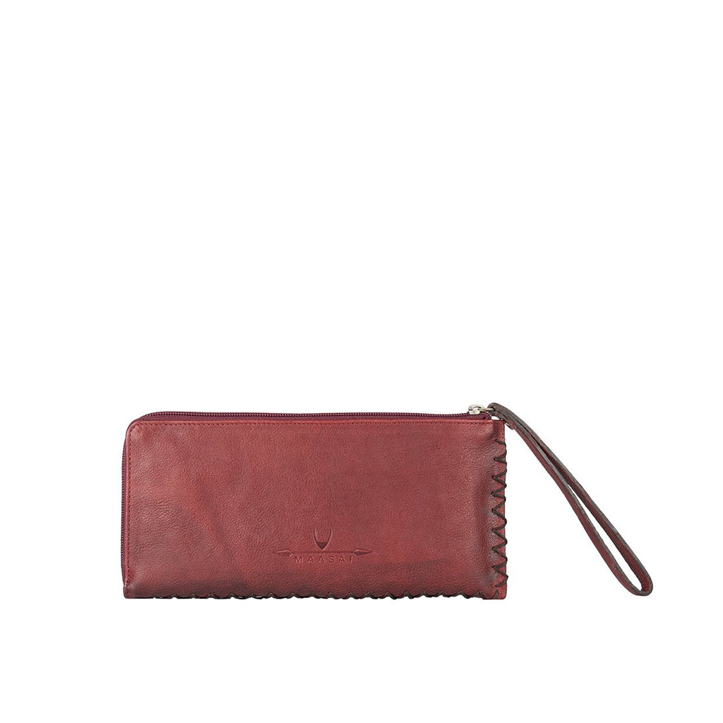 Kiboko W1 Big L-Zip Wallet (Red)