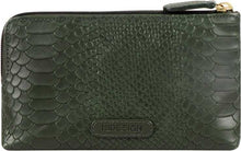 Load image into Gallery viewer, WAL-PAOLA-W1-SNAKE-WALLET-EMERALD GREEN