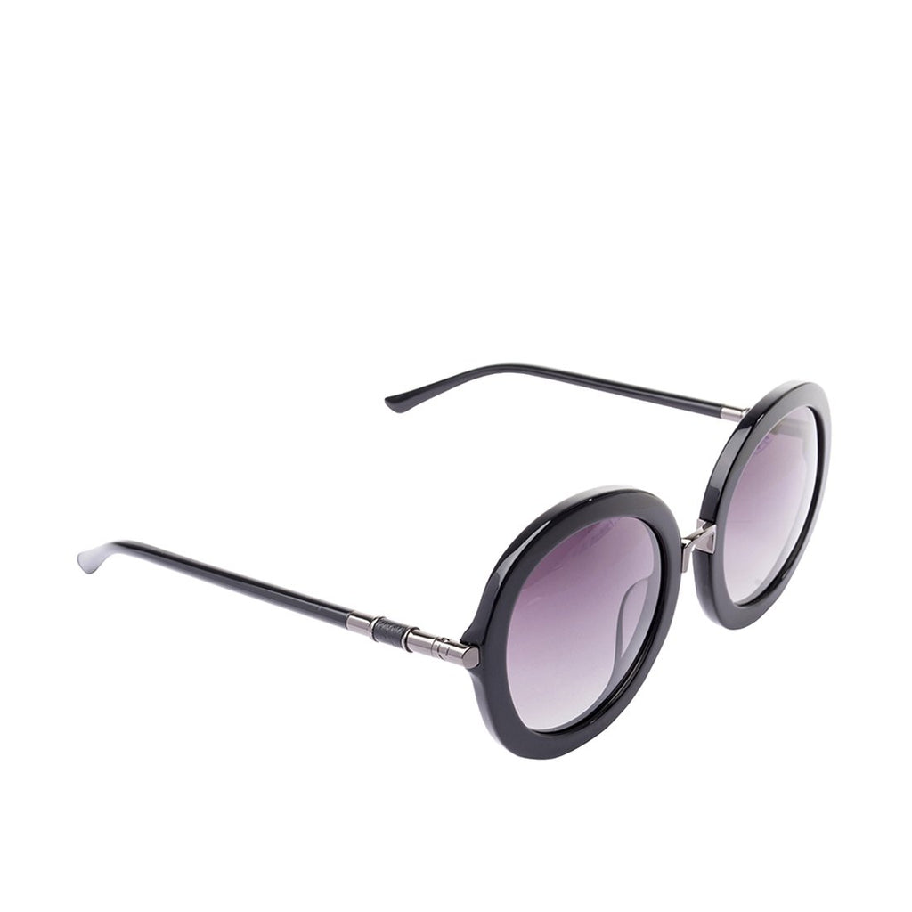 Skii Round Sunglasses (Black)