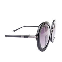 Load image into Gallery viewer, Skii Round Sunglasses (Black)
