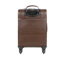 Load image into Gallery viewer, Ridgeway 03 Leather Trolley Bag (Brown)