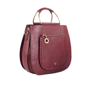 Valonia 02 Leather Satchel (Red)