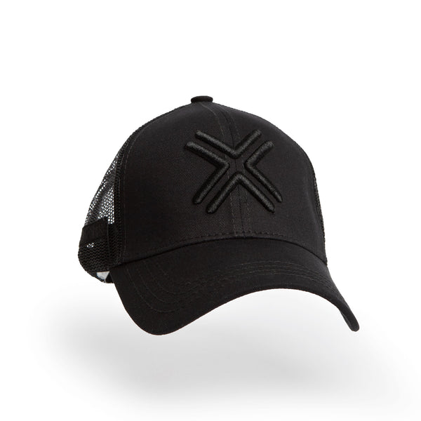 PAYNTR Adult Trucker Cap - Black