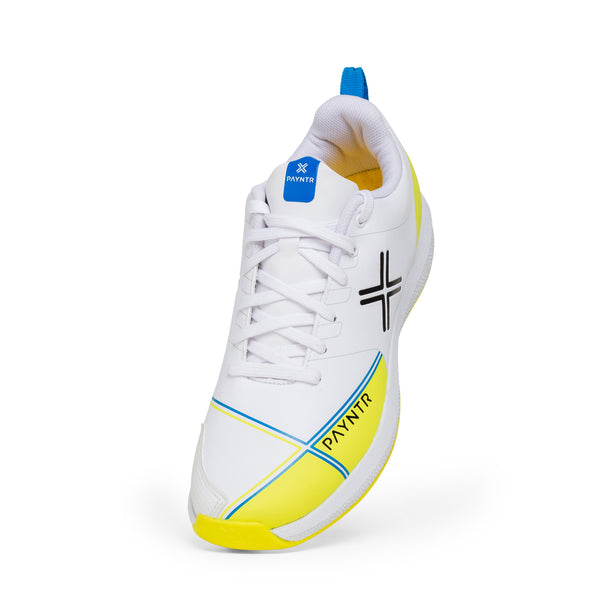 PAYNTR X BATTING SPIKE WHITE & YELLOW