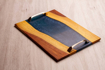 Asersus blue river tray