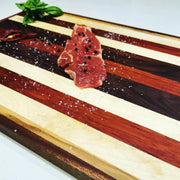 Chef's exotic cutting board