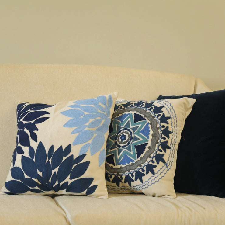 Copy of Blue&Blanc Cushion cover 45 X 45 CM