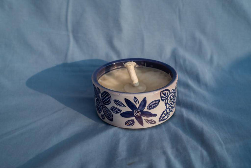 Medium Citronella Blue Stars