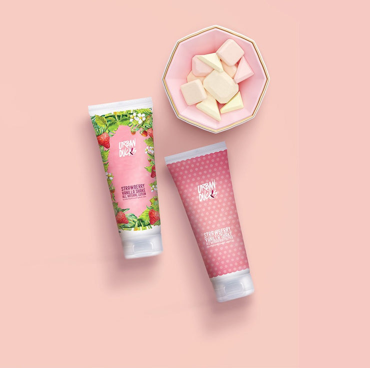 Strawberry vanilla shake lotion/butter