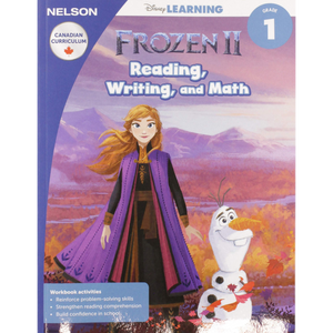 Disney Frozen 2 Reading Writing and Math 1 Paperback – Oct. 9 2019 - MGworld