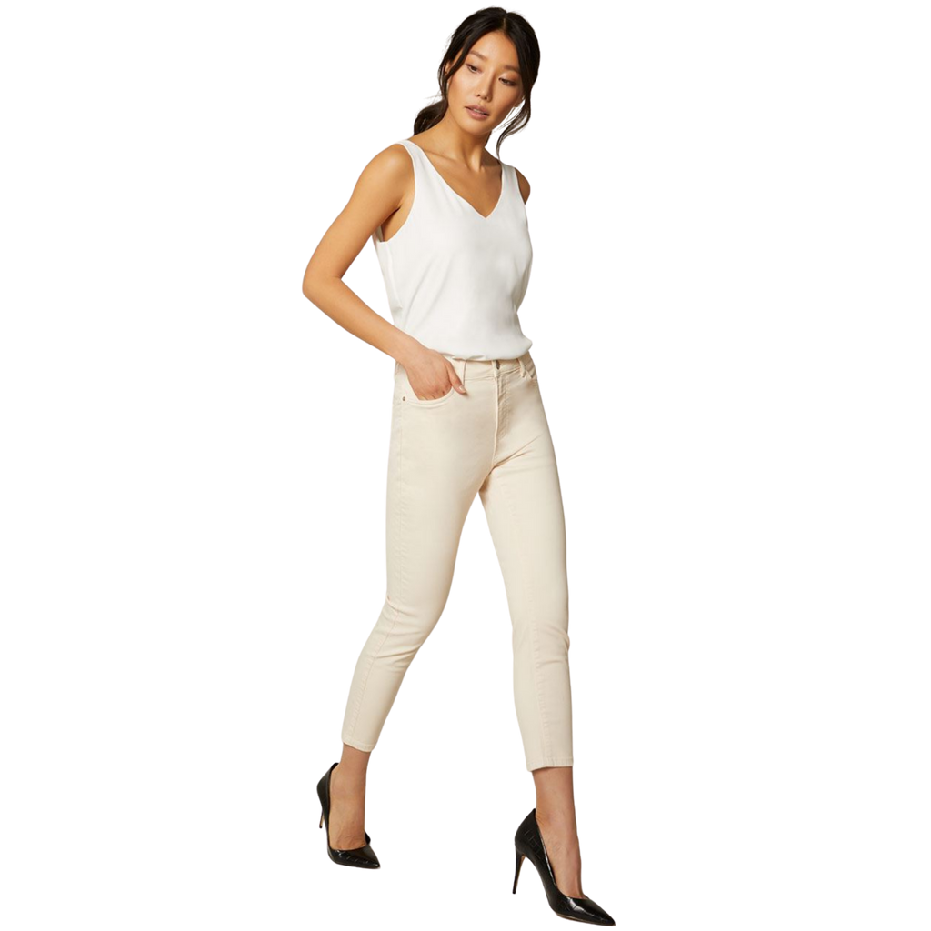 RW & CO. Natalie high-waisted cropped coloured jegging, XS - MGworld