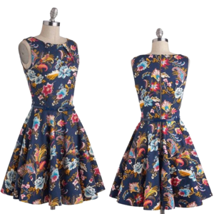 Closet London Luck Be a Lady Dress in Potpourri, UK 16
