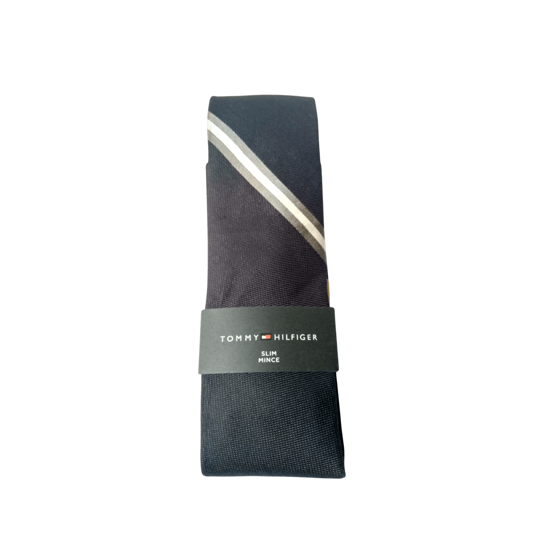 Tommy Hilfiger Classic Navy Slim Mince Neck Tie - MGworld
