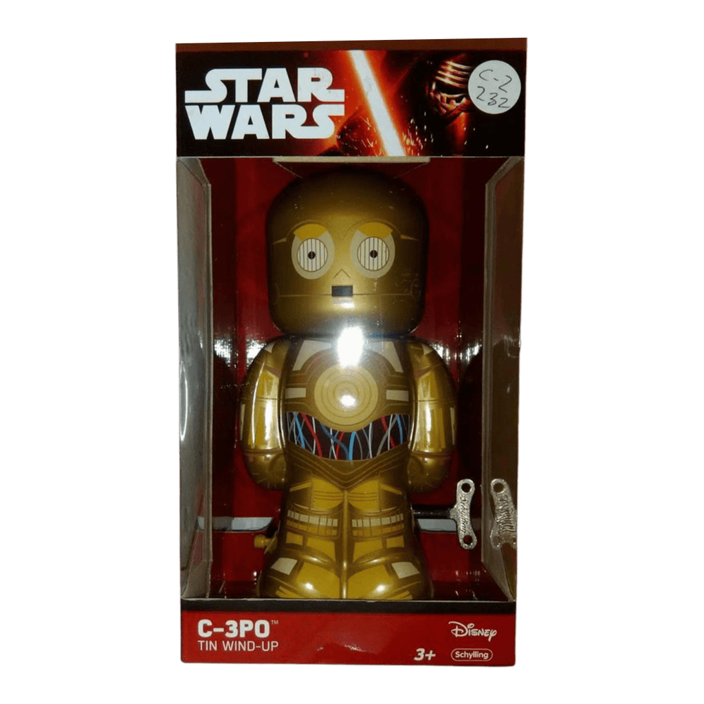 "Star Wars Tin C-3PO 7"" Wind Up Vintage Style by Disney - MGworld"