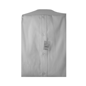 Joseph Abboud White Egyptian Cotton Dress Shirt for Men, 17.5 - MGworld