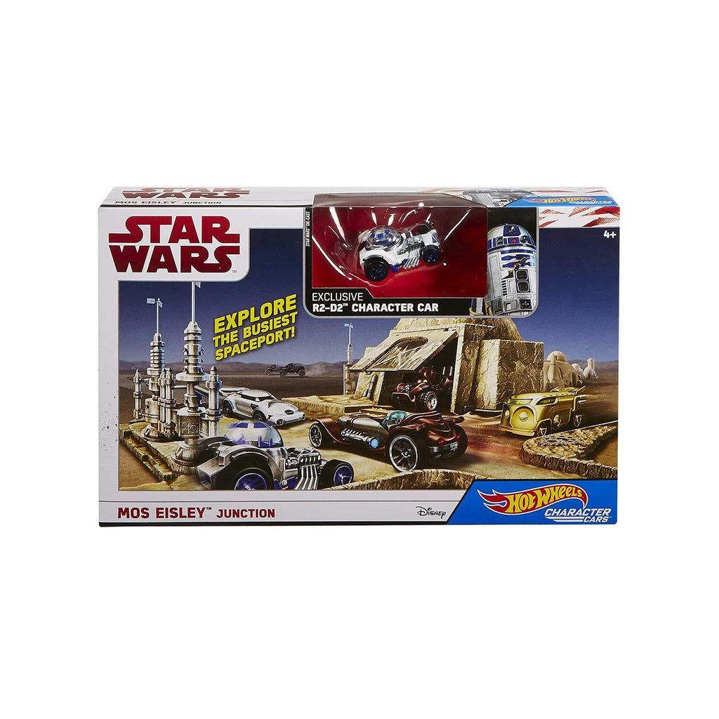 Hot Wheels Star Wars: The Last Jedi  Mos Eisley Junction Character Car Playset - MGworld
