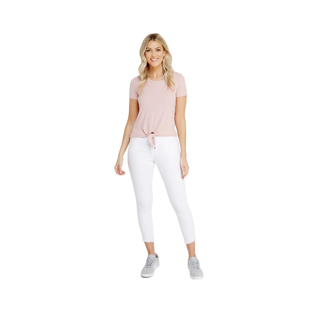 Bootlegger Jeans Crop Easy White | Size 27 - MGworld