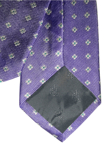 Ralph Lauren Spring Purple Label Necktie, Design Highlight