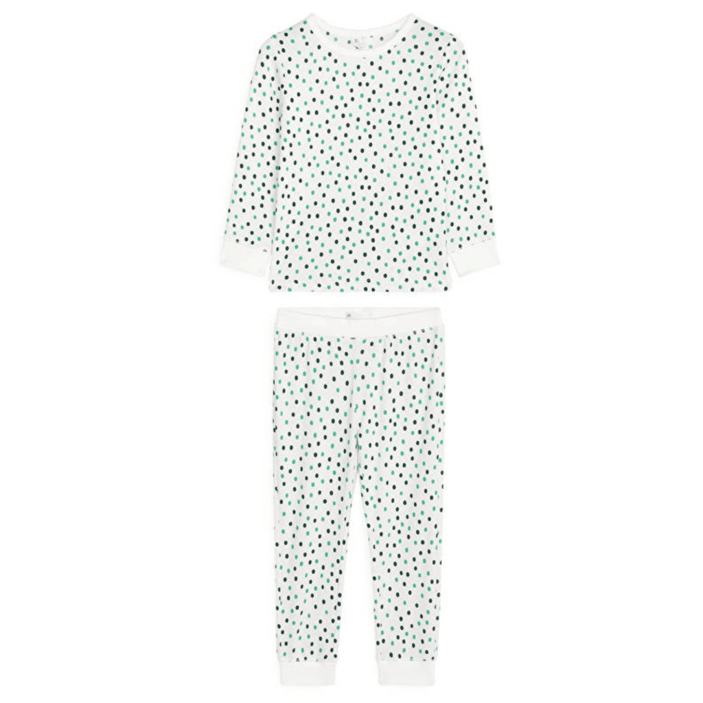 Arket Organic Cotton Jersey Pyjama Set, 4-6 Years - MGworld
