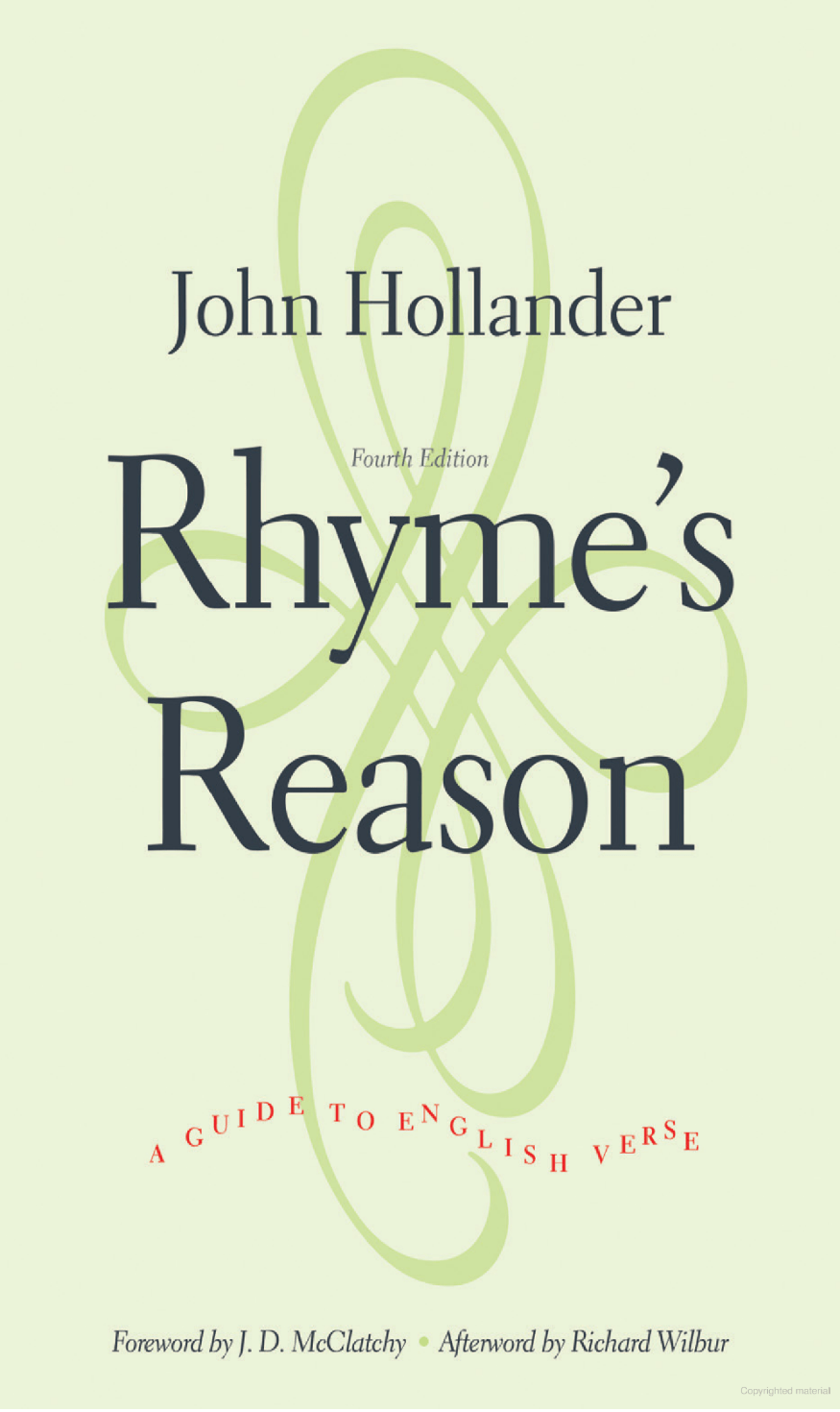 Rhyme's Reason A Guide to English Verse by John Hollander, Paperback - MGworld