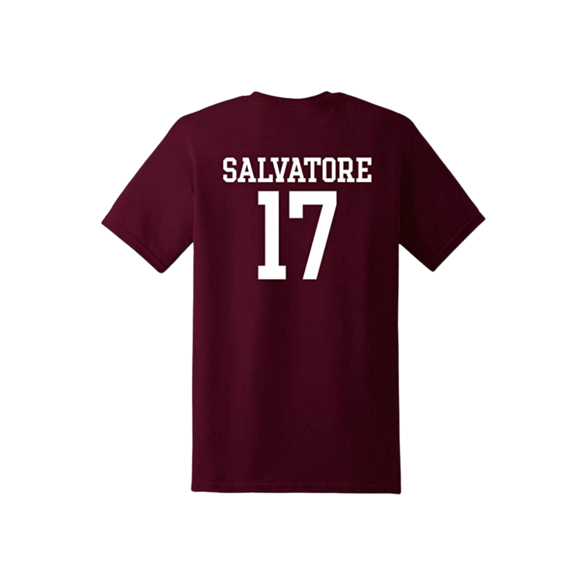 Unisex Vampire Diaries Mystic Falls Salvatore #17 Tee | Medium - MGworld