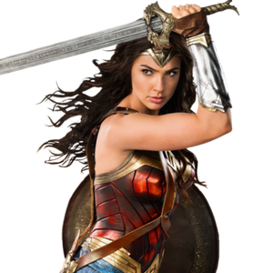Wonder Woman Movie Sword Costume Accessory, DC Licensed - MGworld