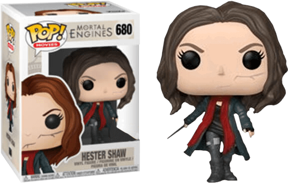Mortal Engines Hester Shaw Unmasked US Exclusive Pop! Vinyl Figure #680 - MGworld