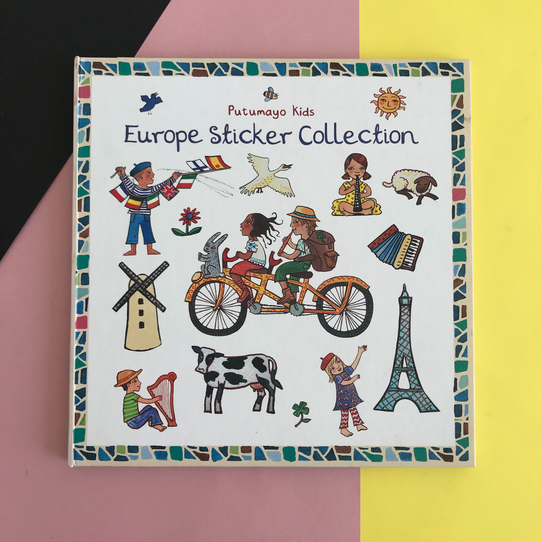 Europe Stickers Collection