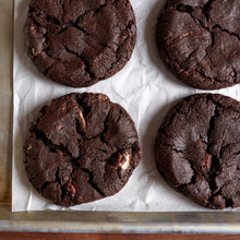Load image into Gallery viewer, Hot Chocolate Cookies (Gluten-Free, One Dozen)