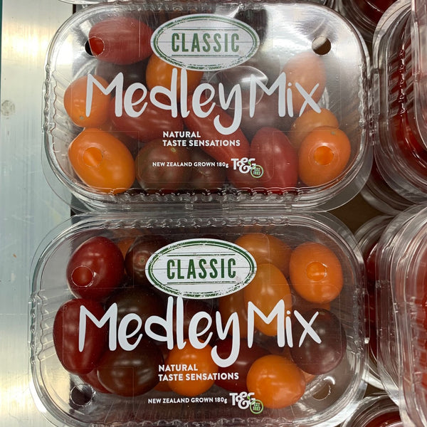 Tomatoes Medley Mix Classic 180g Punnet each