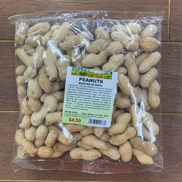 Peanuts Roasted In Shell 250g