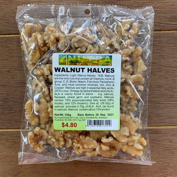 Walnut Halves 100g