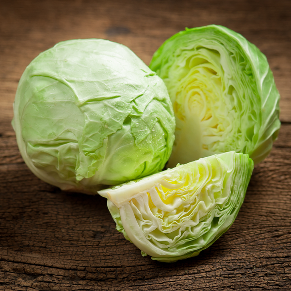Cabbage half each