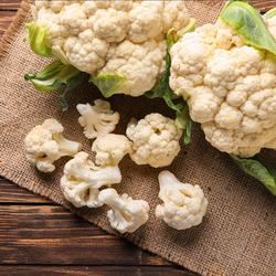 Cauliflower Half each
