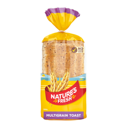 Bread Natures Fresh Multigrain Toast each