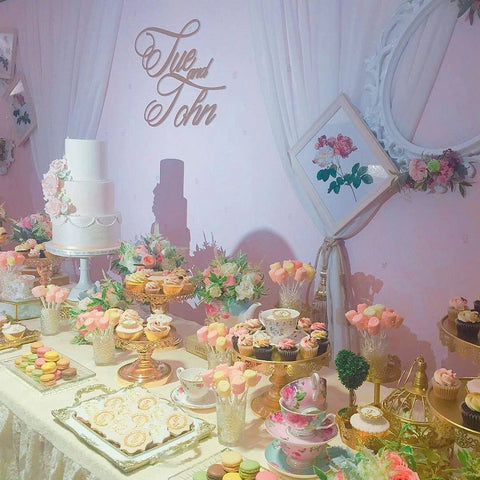 Phoenix Sweets - Sweet Wedding Candy Corner Sweets Table Dessert Hong Kong 結婚 甜點檯 香港 Grand Hyatt Hotel 君悅酒店