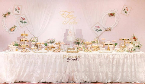 Phoenix Sweets - Wedding Dessert Table Candy Corner Sue Hong Kong 結婚蛋糕 甜點檯 香港 Grand Hyatt Hotel 君悅酒店