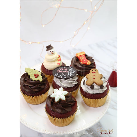 Phoenix Sweets Fairy Holiday 2016 Christmas Cupcake Set