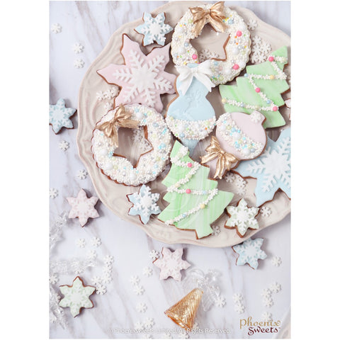 Phoenix Sweets 2016 Fairy Holiday Christmas Cookie Gift Set