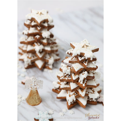 Phoenix Sweets 2016 Fairy Holiday Christmas Gingerbread Cookie Tree