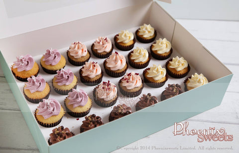 Order Phoenix Sweets Mini Cupcake Goodbye Gift Thank You 訂購 散水餅