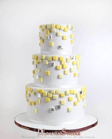 Phoenix Sweets Wedding Cake