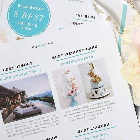 Elle Magazine - Best Wedding Cake Phoenix Sweets