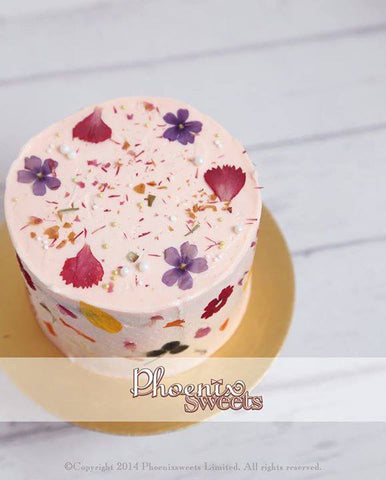 Phoenix Sweets Mini Rose Earl Grey Cake