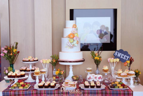 Phoenix Sweets - Wedding Candy Corner Dessert Table Hong Kong 結婚 甜點檯 香港