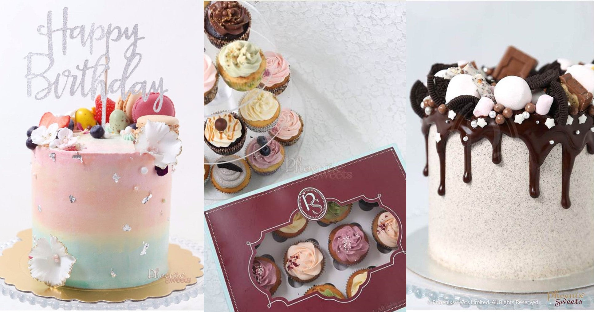 Phoenix Sweets Butter Cream Cake and Cupcake