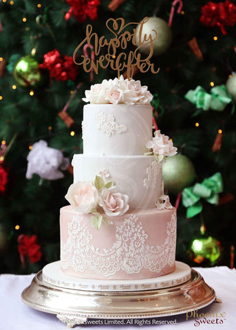 Hong Kong Wedding Cake 香港 結婚蛋糕